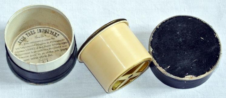 Lioret Lioretgraph No. 3 Walze Phonograph Celluloid Chanson