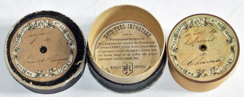 Lioret Lioretgraph Celluloid Phonograph Bläser