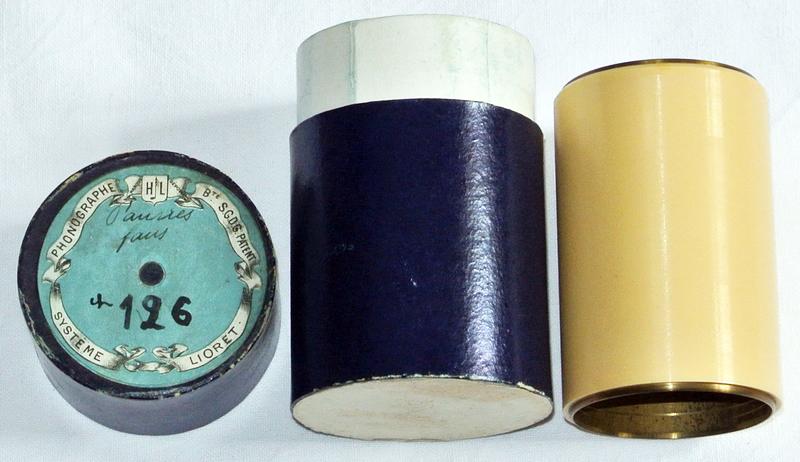 Lioret Lioretgraph Celluloid Phonograph Chanson Eureka