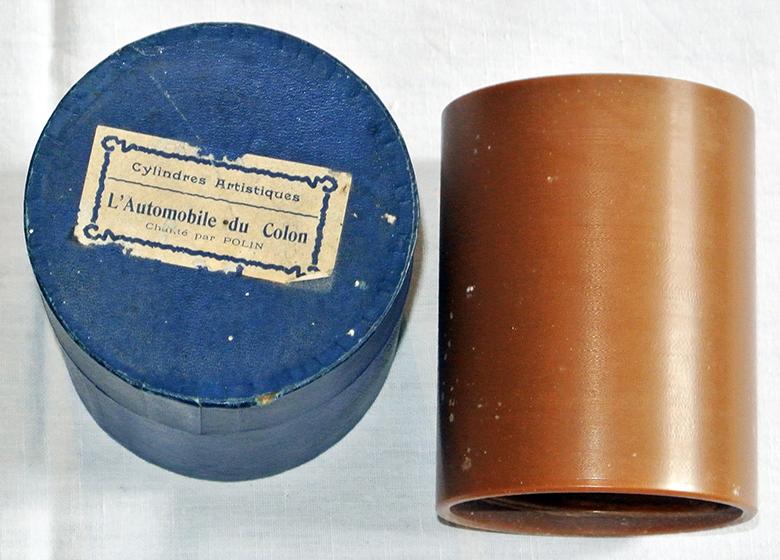 Phénix Wachswalze Wachs Phonograph